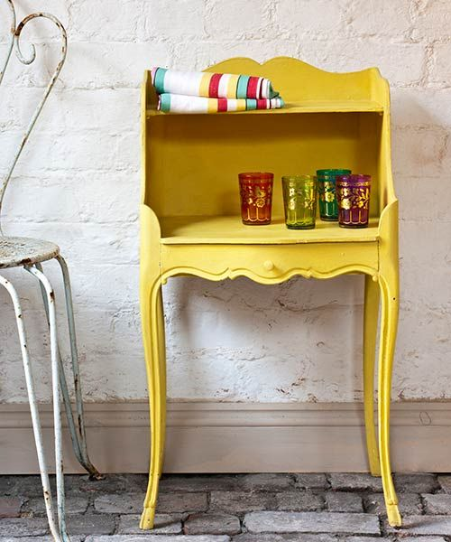 color of the month may buttercup yellow chalk paintchalk