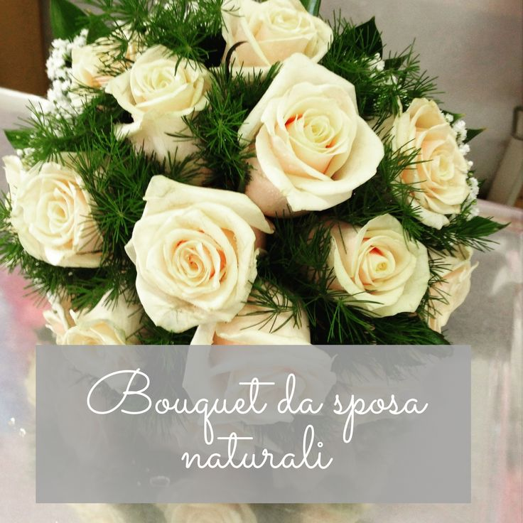 Bouquet+da+sposa+naturali