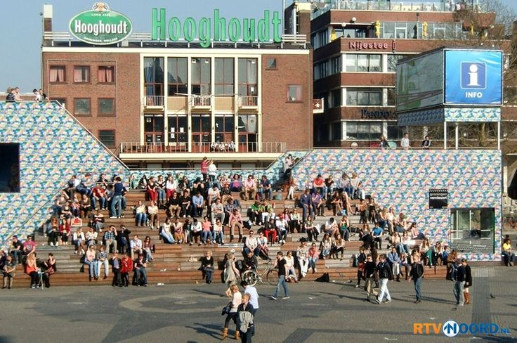 Grote Markt. Groningen. The Netherlands.