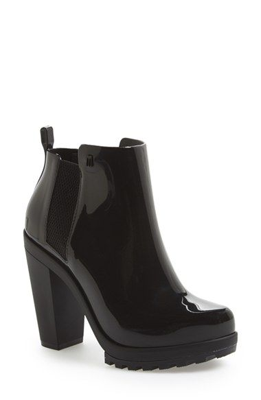 Free shipping and returns on Melissa 'Soldier' Bootie (Women) at Nordstrom.com. A lugged sole grounds a statement-making ankle boot that channels old-school workwear style, while stretch side panels ensure a custom fit.