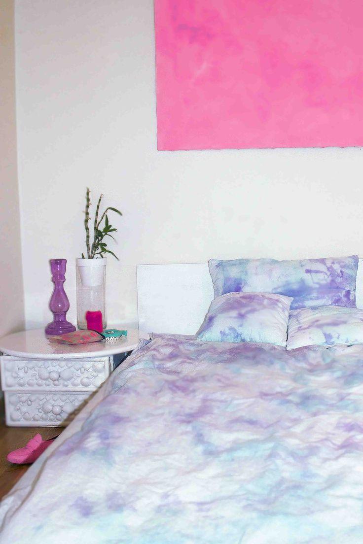 tie dyed bedsheets Flo de Richefort