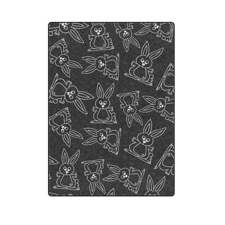 Bunny Pattern Blanket 58