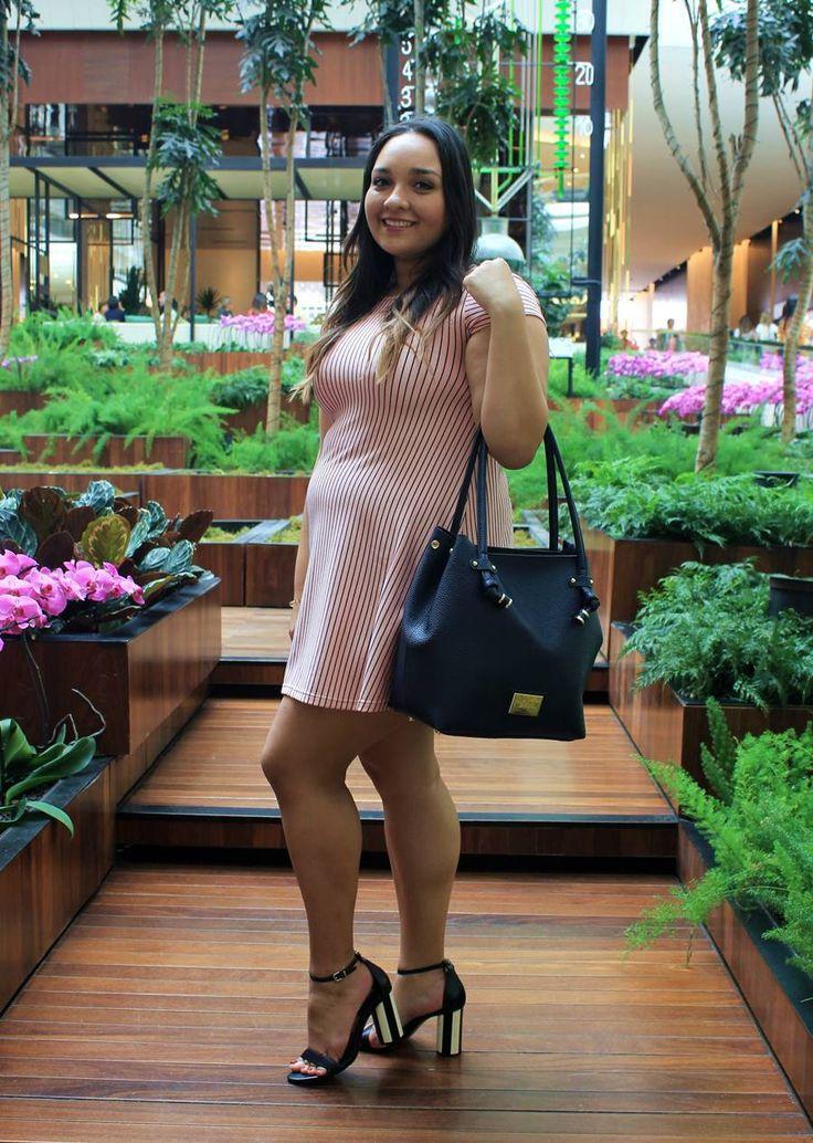 Look do Dia: Vestido Rosinha - Carol Doria, dress, pink millennial, rosa, outfit of the day, look do dia, look para o dia a dia