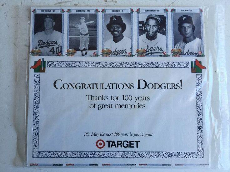 1990 TARGET DODGER SEALED SET-150 CARDS-JACKIE ROBINSON-D.DRYSDALE-J.PODRES