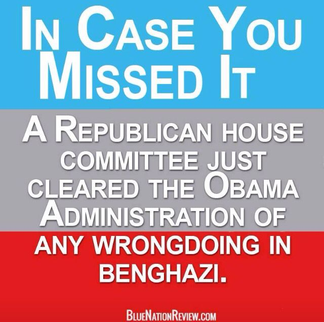 """This tidbit hasn't made the news as so many stories that put the TRUTH front and center. I despise the GOP for many reasons but you've got to give it to them...they definitely """"control the message"""" and stand as one in all situations. I want to know why this TRUTH about Benghazi isn't being shouted out by Dems? All the Hell the GOP/Teabags gave The President and Hillary about this, yet it's being quietly swept under the rug by the GOP!! Why? #uniteblue #auspol"""