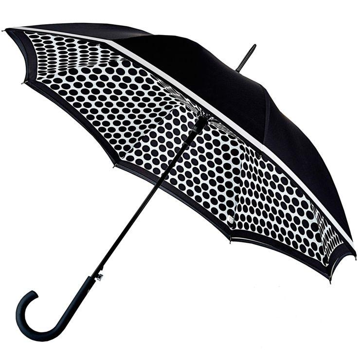 Bloomsbury Double Canopy Umbrella - Contrast Spot - Brolliesgalore