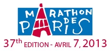 Paris Marathon: April 7th 2013. I will do this. This gives me something to work for and I always do better when I have a goal in mind. THIS is mine.