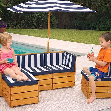 outdoor furniture for kids!!