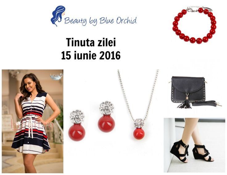 Tinuta zilei - 15 iunie 2016 - Beauty by Blue Orchid