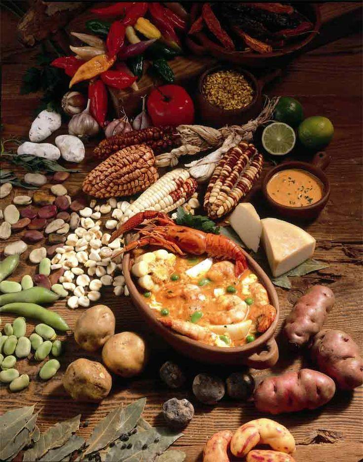 Перуанская кухня десерты