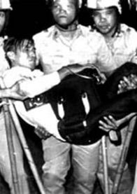 1978- After National Assembly elections in the Philippines, President Marcos imprisons 10 of the 21 opposition candidates. Many prisoners are tortured & many civilians are murdered. In the US, President Carter urges Congress to give Marcos $300 million in military aid.
