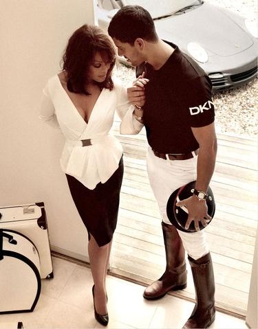 Adam Rodriguez & Janet Jackson