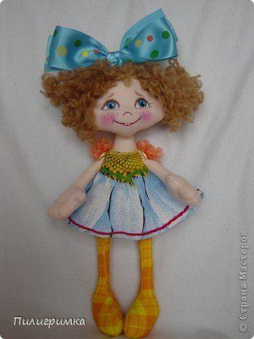 Куклы Шитьё: Янка, Летка Енка и Алла. Ткань. Фото 1