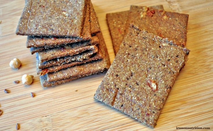 Multi grain crackers (gluten-free!) | Snacks | Pinterest