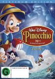 Pinocchio (1940) - 70th Anniversary: Platinum Edition ~ DVD