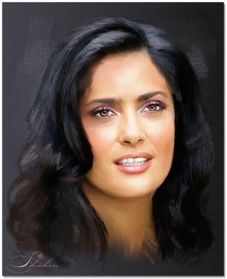 Salma Hayek by shahin