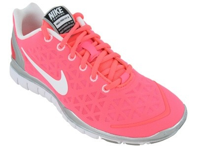 Nike Free TR Fit 2 woman's shoe.  Literally, the most comfortable runner I've ever worn.