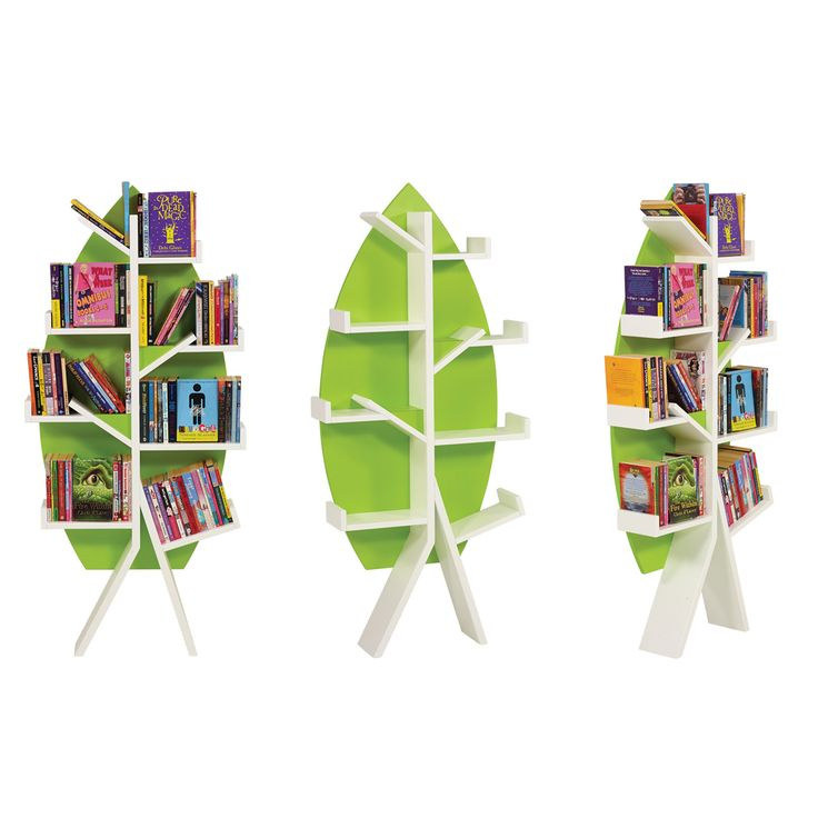 Designed for use against a pillar or wall, the Tree's 'branches' will provide display for up to 80 books at just the right height for children. Supplied with 4 Feature Fillers to enable you to create face-out display on one or two shelves for extra impact.
