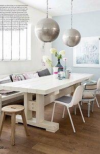 Mooie tafel en kleuren