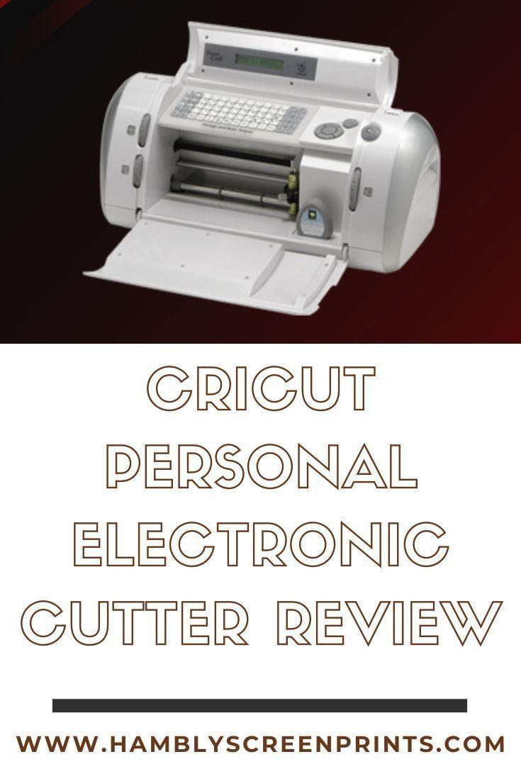 Cricut Personal Electronic Cutter Review Electronic Scrapbooking Cricut Cutter How To Use Cricut