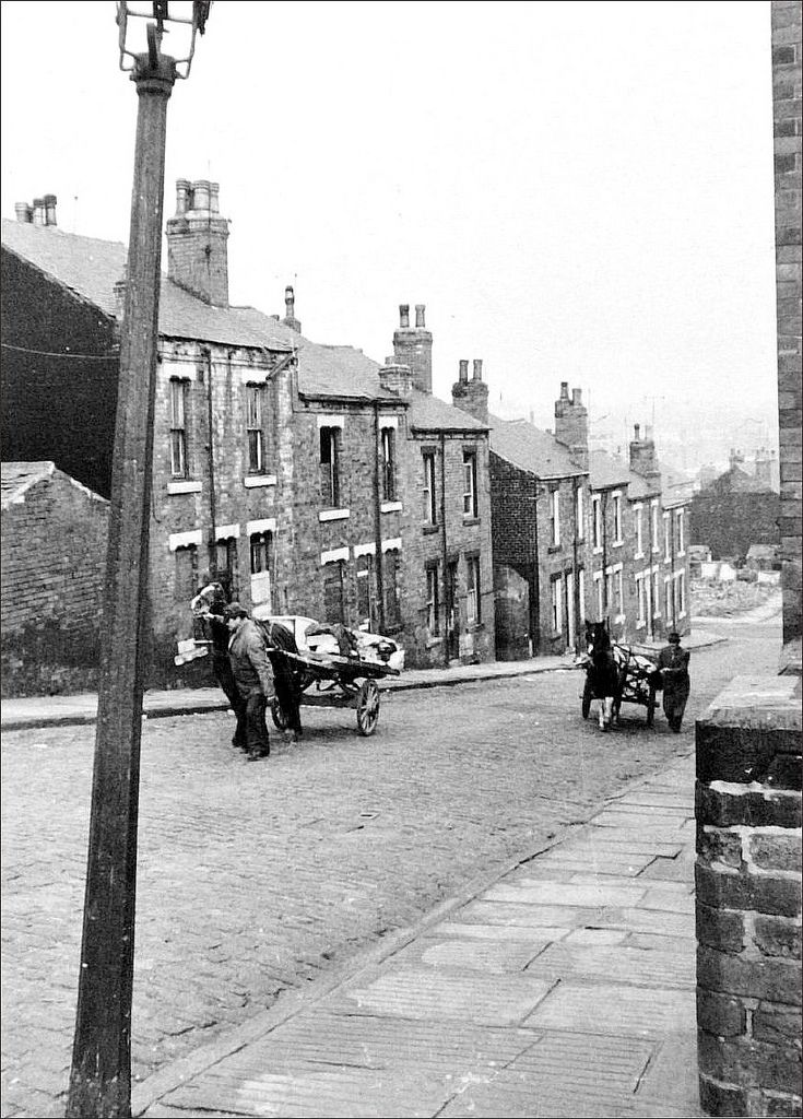 Rag-and-bone men, Leeds in 1970