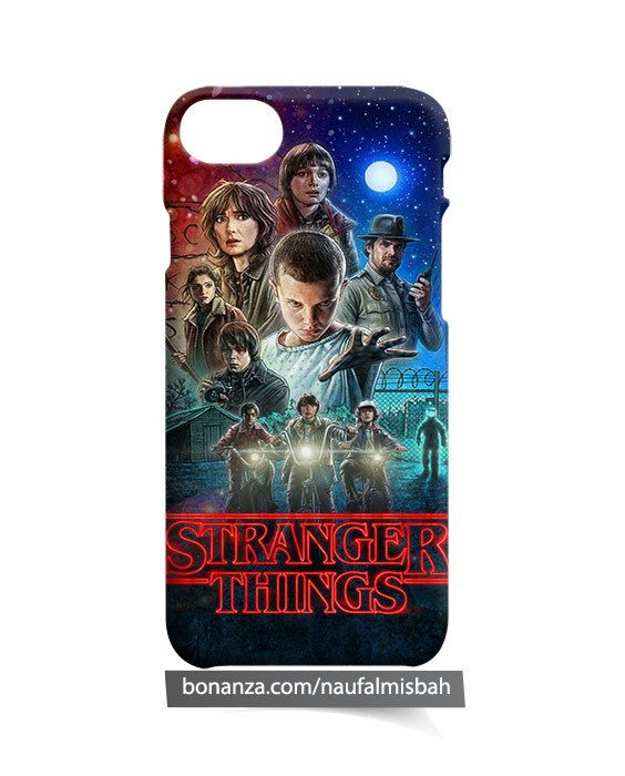 Stranger Things iPhone 5 5s 5c 6 6s 7 8 + Plus X Case Cover