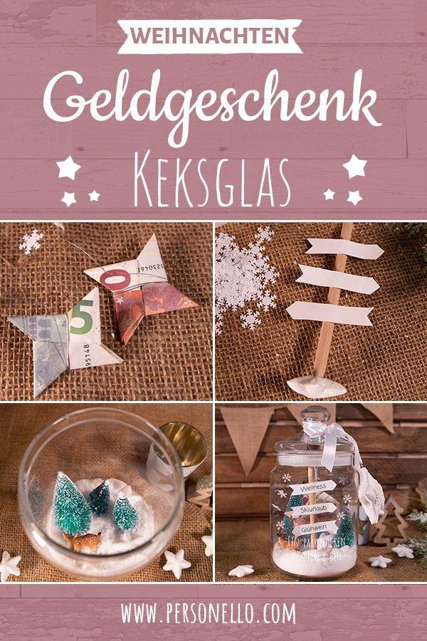 Personliche Gelgeschenke Zu Weihnachten Graviertes Keksglas Als