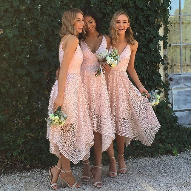 The ultimate bridesmaids dress  Nicholas the Label Lace Ball Dress