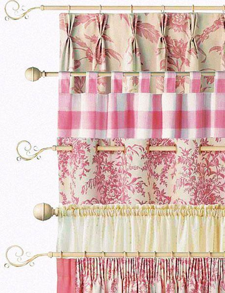 Tipos de corte de cortinas