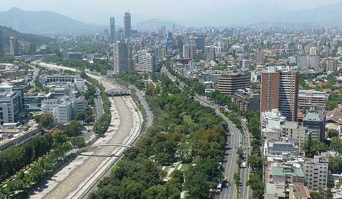 Balmaceda Park Balmaceda Park is an urban park along the Mapocho River in Providencia, Santiago de Chile. It was originally created under the name of Parque Japonés (Japanese Park) in... #Attraction #Landmark  #Backpackers #Hostelman #Travel #Landmark