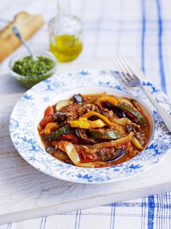 Looking for an easy ratatouille recipe? At Jamie Oliver, we have a delicious ratatouille that packs an extra punch with the addition of vibrant salsa verde.