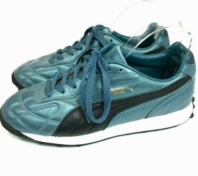 Puma Mens Tennis Shoes Sneakers Blue