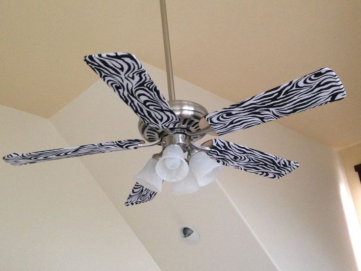 the call of the wild has never been louder take our zebra fan blade covers - Coole Deckenventilatoren Fr Kinder