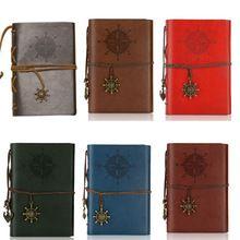 Ретро пиратский стиль ноутбук журнал дневник спираль папка-переплет блокнот(China (Mainland))