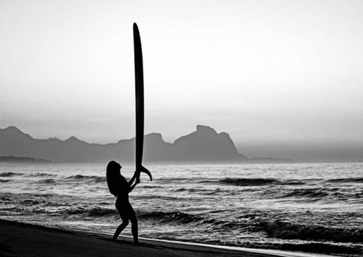 Surfgirl Surfboard Ocean Balance Sea Salty Surfing Surflife Surfer Waves