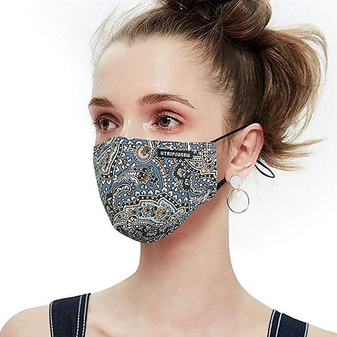 Anti Pollution Dust Mask Washable And Reusable Pm2 5 Cotton Face Mouth Mask Protection From Pollen Mask Anti Pollution Mask Dust Mask