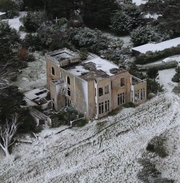 Ruins of cargill castle dunedin new zealand
