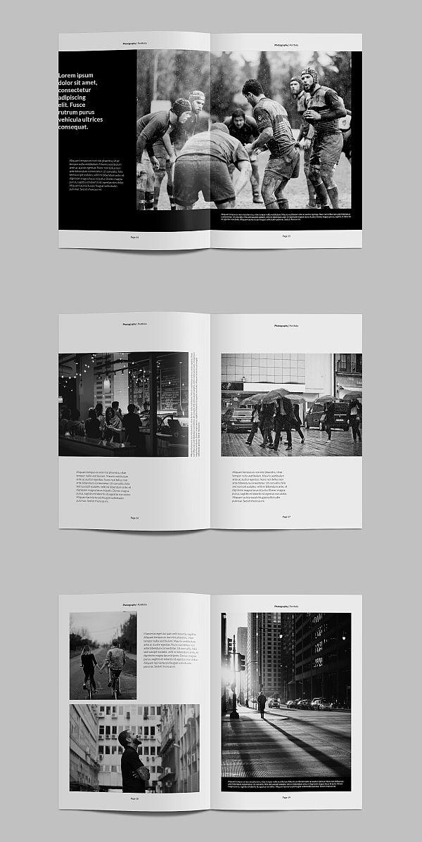 Kreatype Photography Portfolio   Brochure Templates