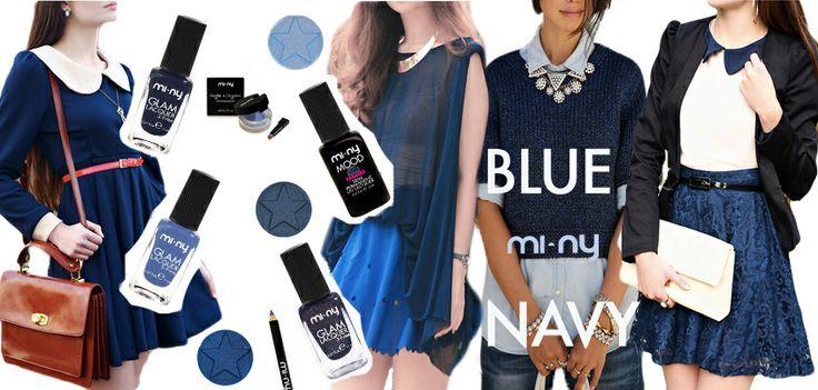 "Hello Girls! Le passerelle della Fashion Week ci dicono che ""BLUE NAVY IS THE NEW BLACK!""  Scoprite i Blu MI-NY in tutti i nostri Store e Online!   http://www.minyshop.com/it/73-blu   #mi-ny #MINY #minycosmetics #beauty #madeinitaly #makeup #noanimaltesting #toulenefree #camphorfree #formaldeidefree #blue #navy #bluenavy #fashionweek #nailpolish #glamlacquer #fashion #outfit #eyeshadow #eyeliner"