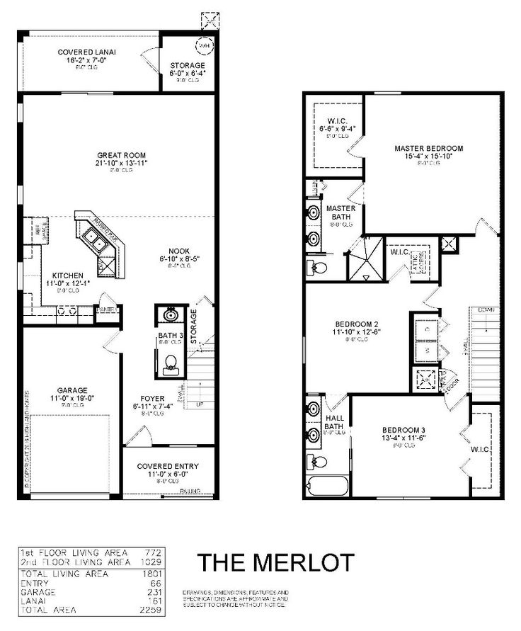48 best images about highland homes plans on pinterest for Townhome layouts