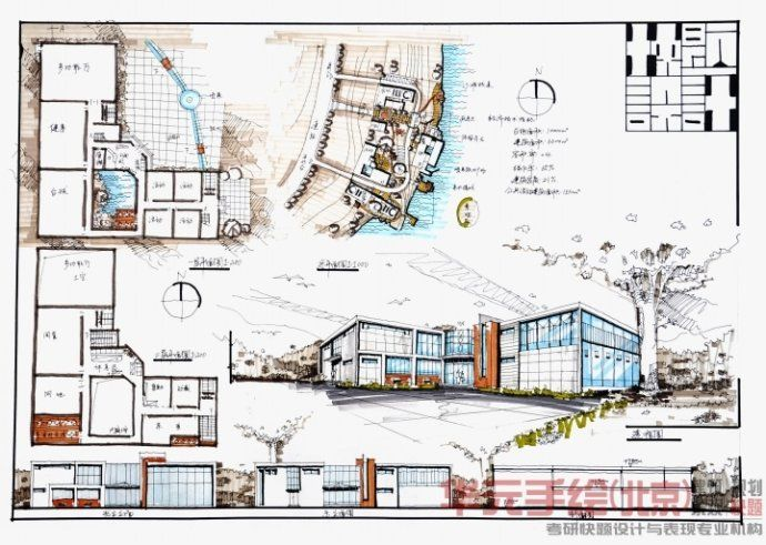 Architectural Presentation Layout Sheet