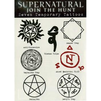 supernatural anti possession tattoo - Google Search