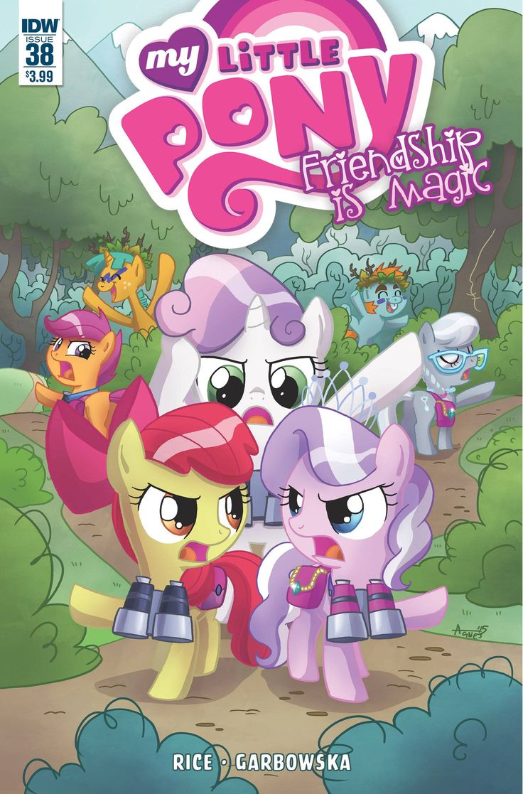My Little Pony Friendship Is Magic (2012) Issue #38