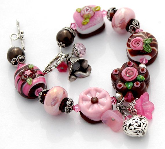 valentine chocolate clay projects lampwork beads iphone 6 jewelry box jewerly chocolates fimo note