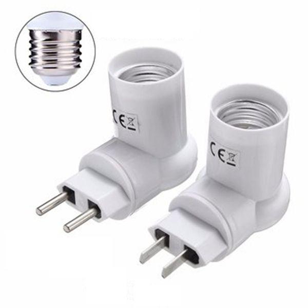 E27 Base Socket Adapter Converter Pir Motion Sensor Holder For Led Light Lamp Bulb Ac110 240v Led Light Lamp Light Accessories Lamp Bulb