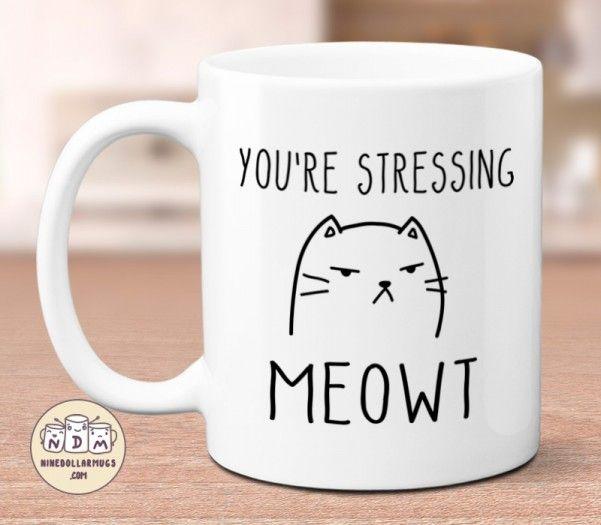 This Llama Doesn/'t Want Your Drama 12oz Latte Mug Cup Funny Animal Joke