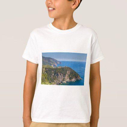 #Corniglia Cinque Terre Liguria Italy T-Shirt - #cool #kids #shirts #child #children #toddler #toddlers #kidsfashion
