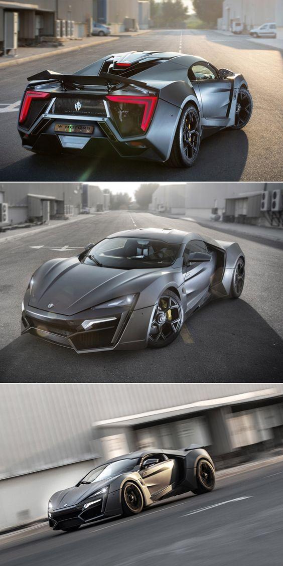 5 Rare Supercars Worth Millions.   Meet the $3.4 million – W Motors Lykan Hypersport.