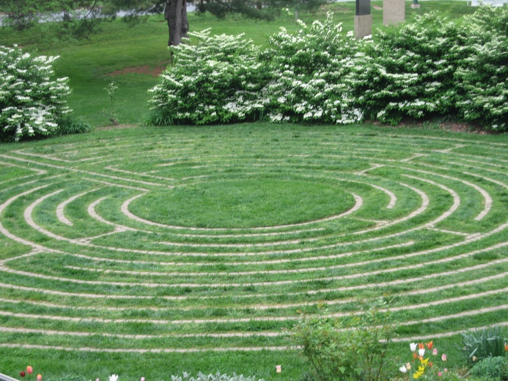 21 best labyrinth images on Pinterest Labyrinth garden - labyrinth garden design