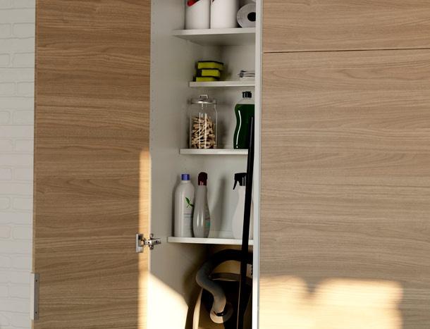 Slideshow showing vacuum cleaner storage